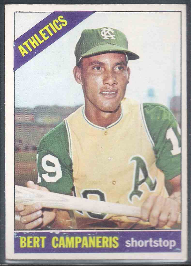 1966 Topps Bert Campaneris #175 card front image