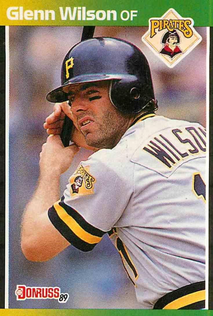 1989 Donruss Glenn Wilson #447 card front image