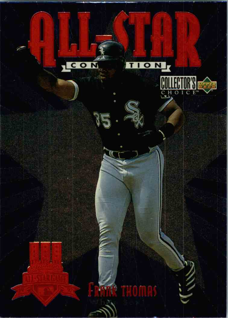 1997 Upper Deck UD Choice Frank Thomas #10 card front image