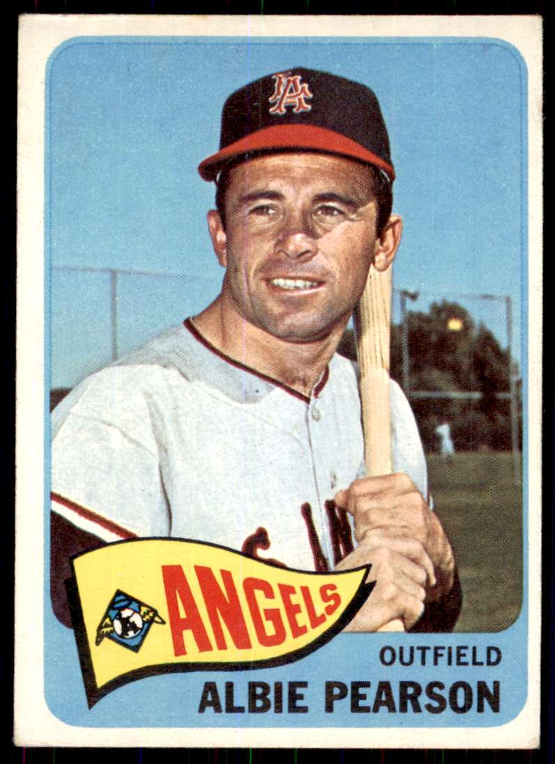 1965 Topps Albie Pearson #358 card front image