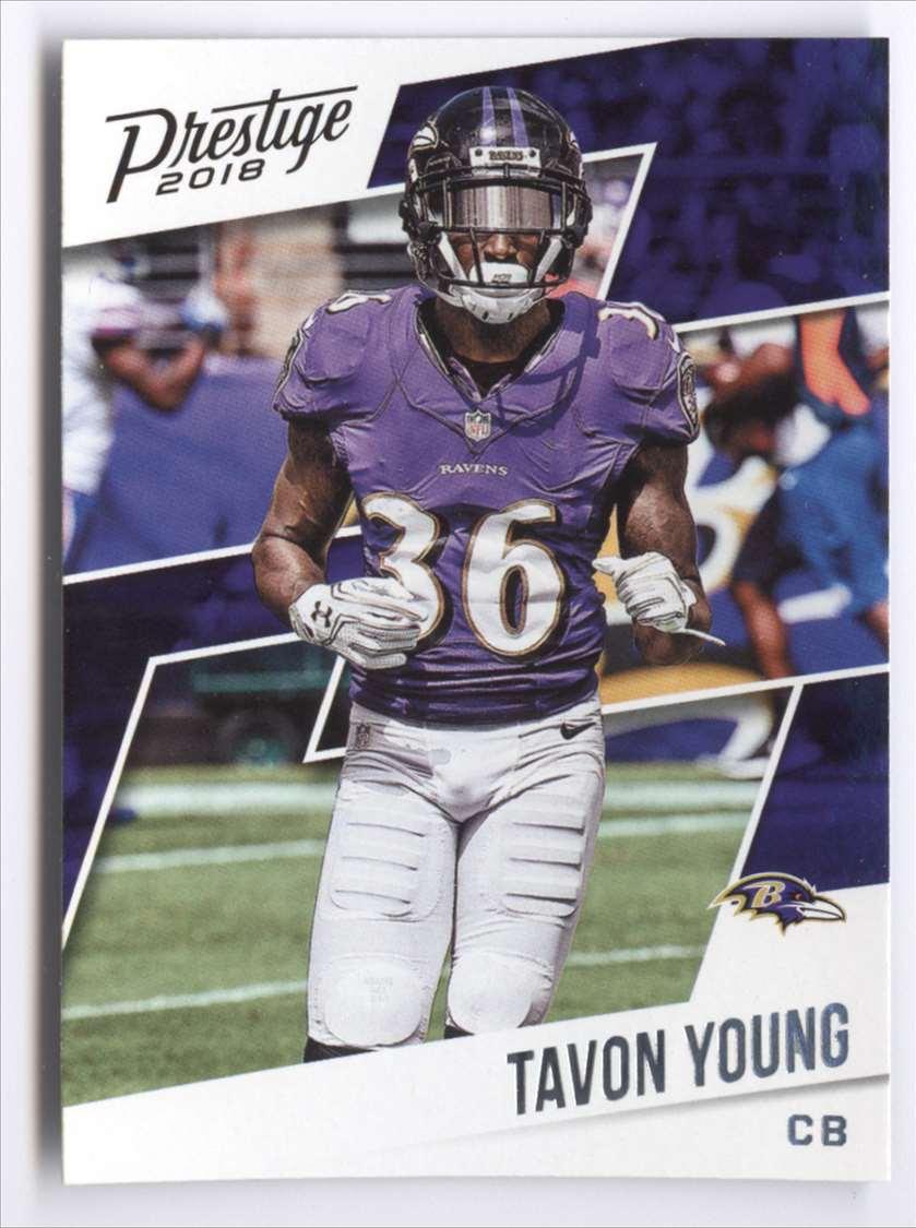2018 Panini Prestige Tavon Young #149 card front image