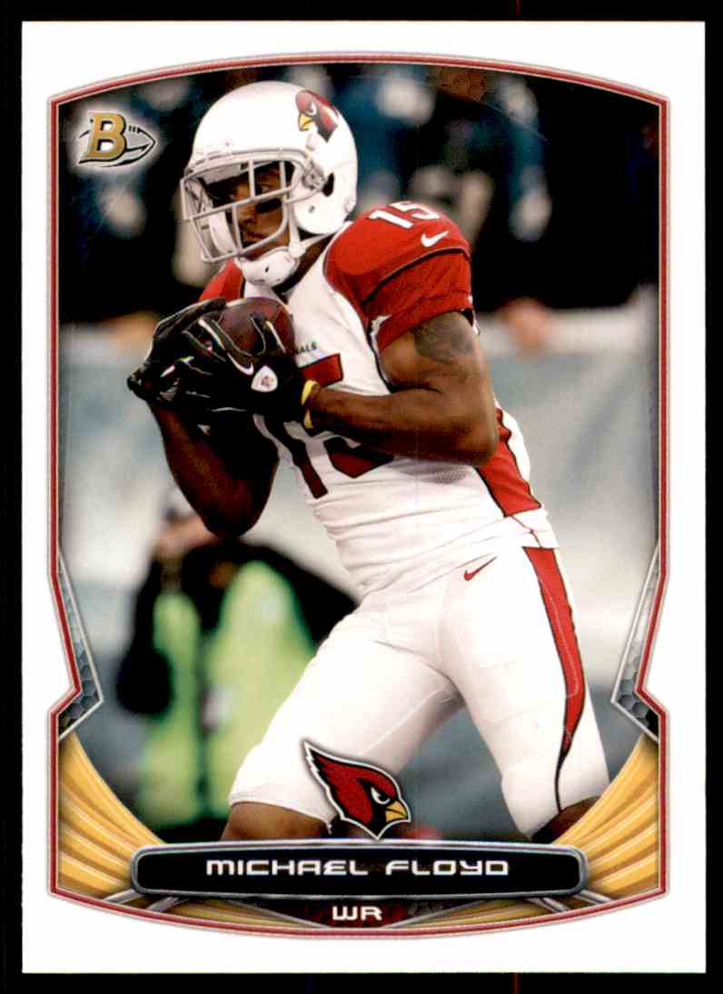 2014 Bowman Michael Floyd #5 card front image
