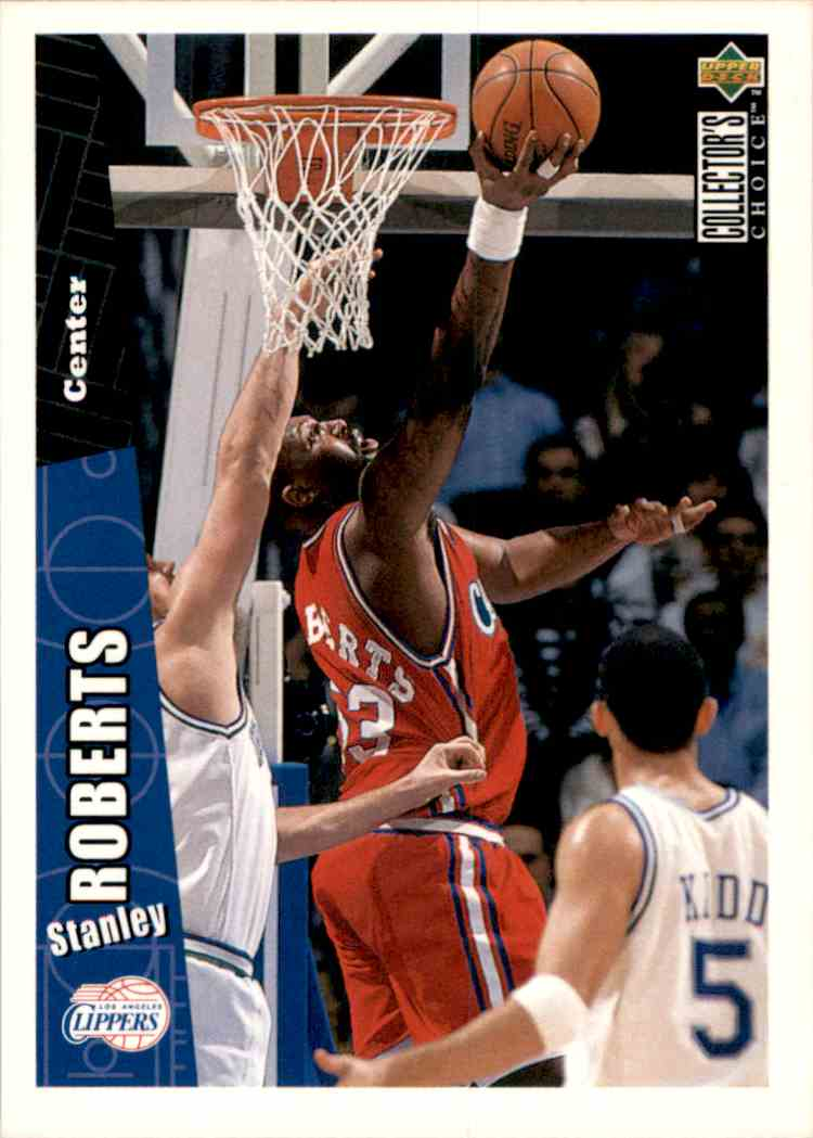 1996-97 Collector's Choice Stanley Roberts #262 card front image