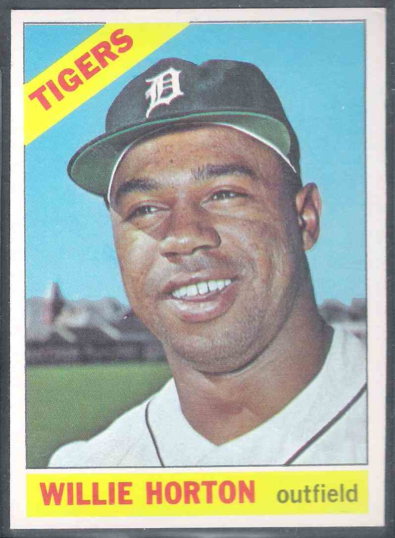 1966 Topps Willlie Horton Nm #20 card front image