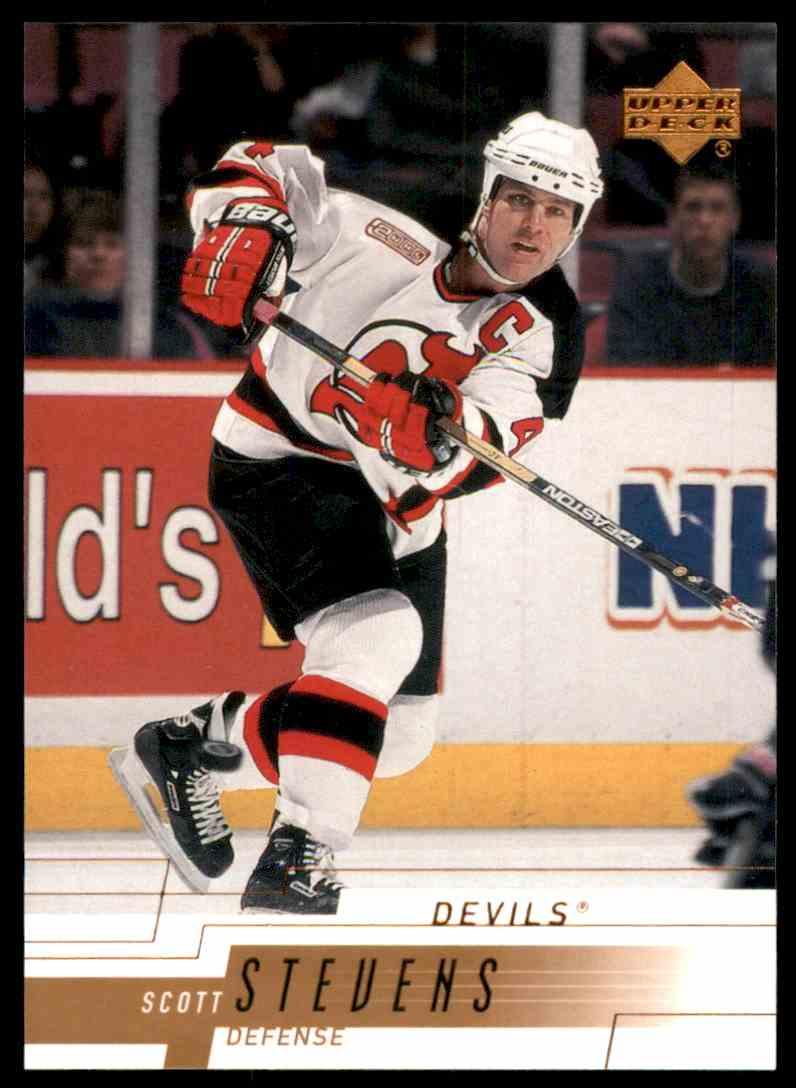 2000-01 Upper Deck Scott Stevens #108 card front image
