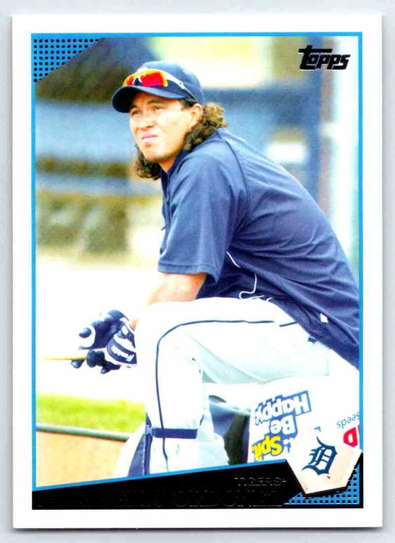 2009 Topps Magglio Ordonez #395 card front image