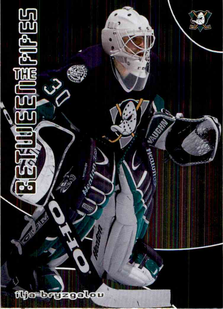 2001-02 In The Game Between The Pipes Ilya Bryzgalov #84 card front image