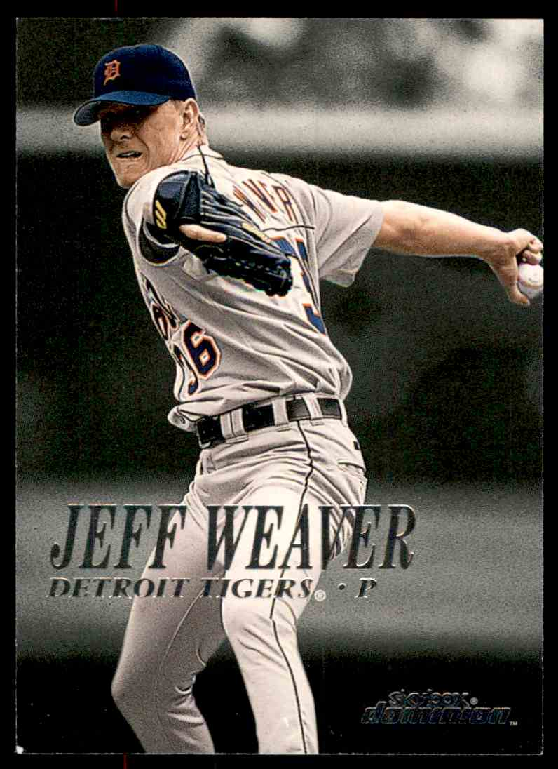 2000 SkyBox Dominion Jeff Weaver #246 card front image
