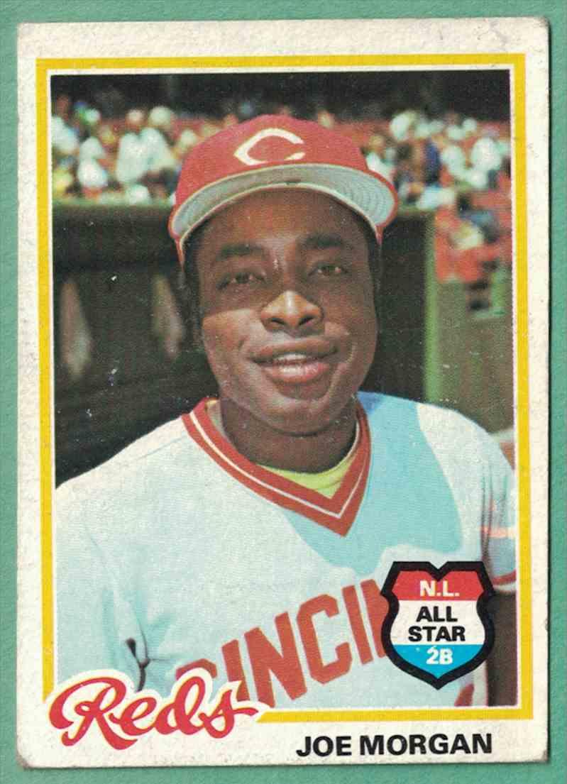 1978 Topps Joe Morgan VG-EX #300 card front image