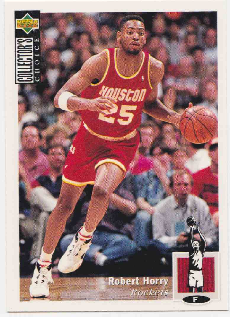 1994-95 Upper Deck Collector's Choice Base Robert Horry #125 card front image