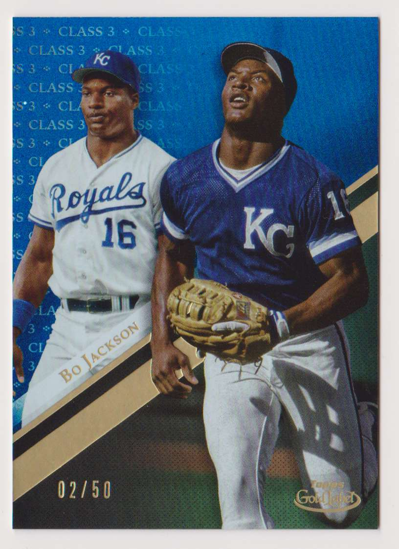 2019 Topps Gold Label Class 3 Bo Jackson #85 card front image