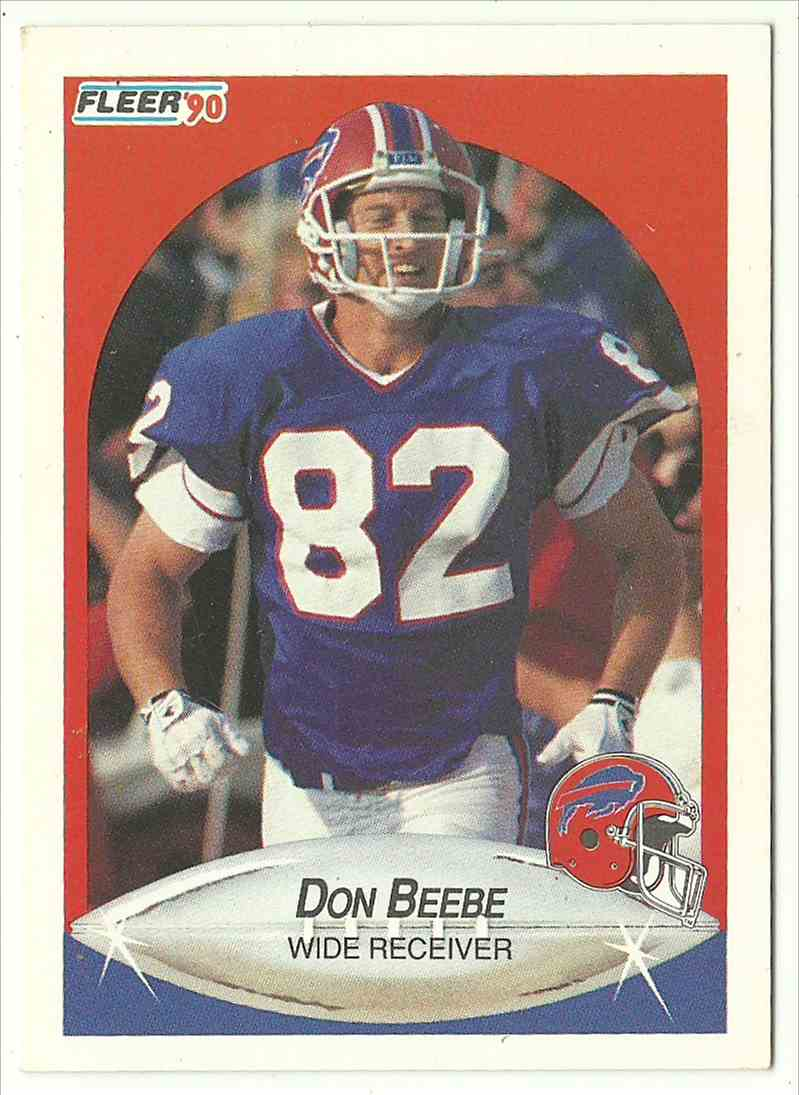 1990 Fleer Don Beebe #110 card front image