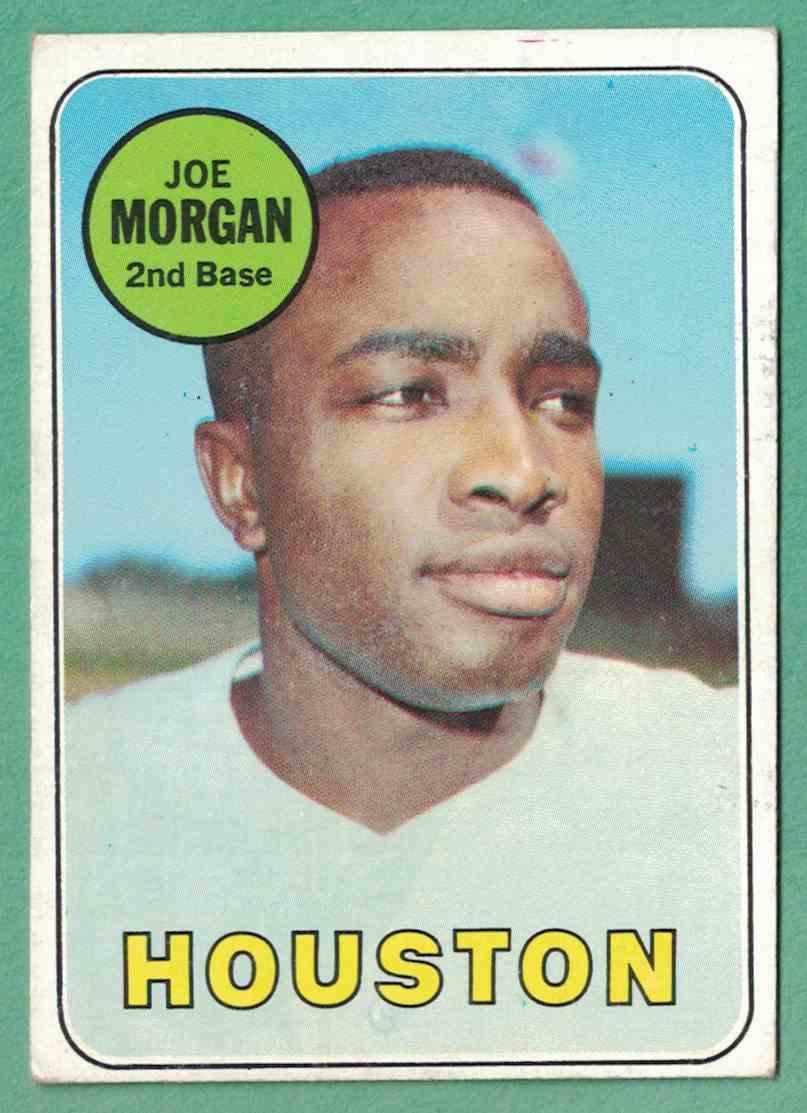 1969 Topps Joe Morgan EX #35 card front image