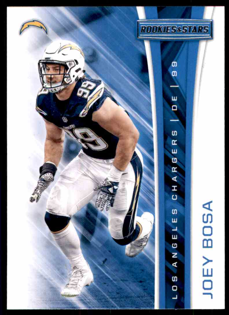 2017 Rookies And Stars Joey Bosa #195 card front image