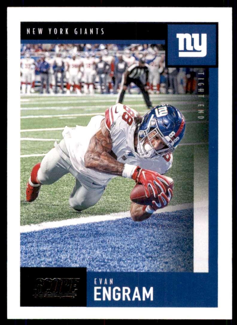 2020 Score Evan Engram #178 card front image