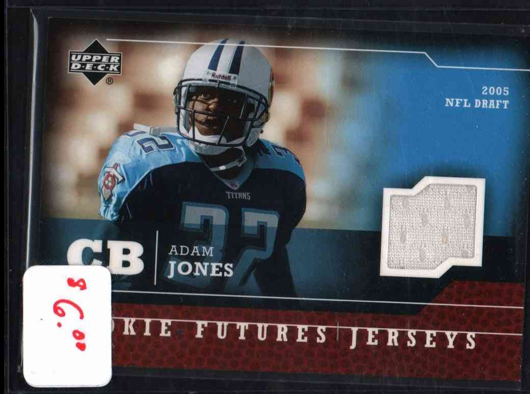 2005 Upper Deck Rookie Futures Jerseys Adam Jones #RF-AJ card front image