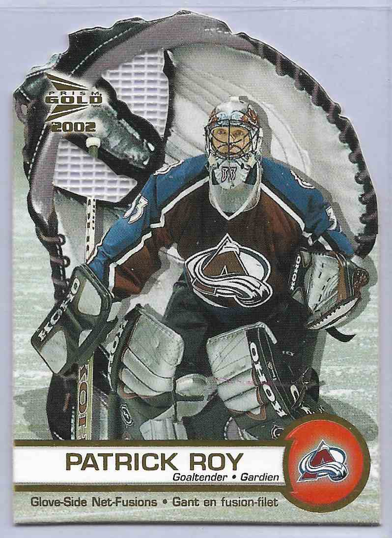 2001-02 Pacific MC Donald Patrick Roy #1 card front image