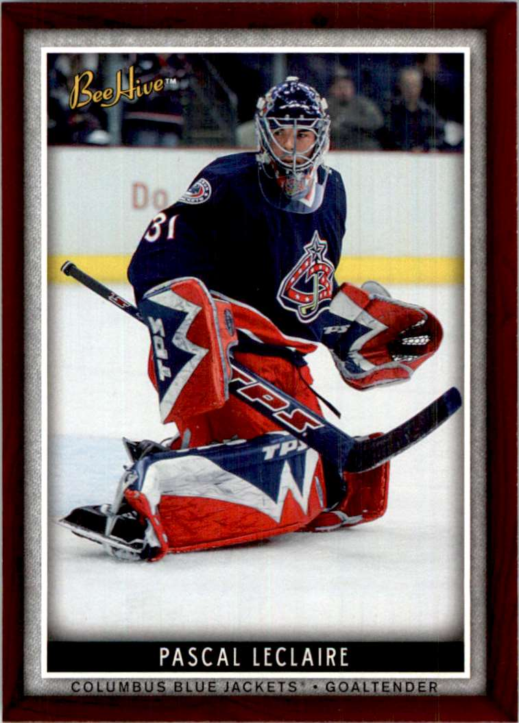 2006-07 Upper Deck Beehive Pascal Leclaire #72 card front image