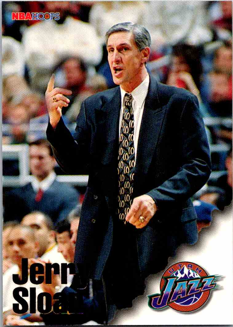 1997-98 NBA Hoops Jerry Sloan #275 card front image
