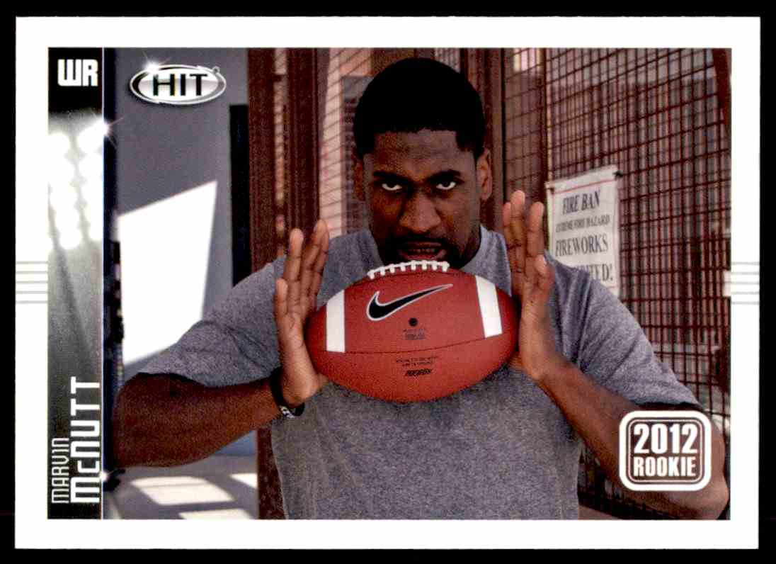 2012 Sage Hit Marvin McNutt #72 card front image