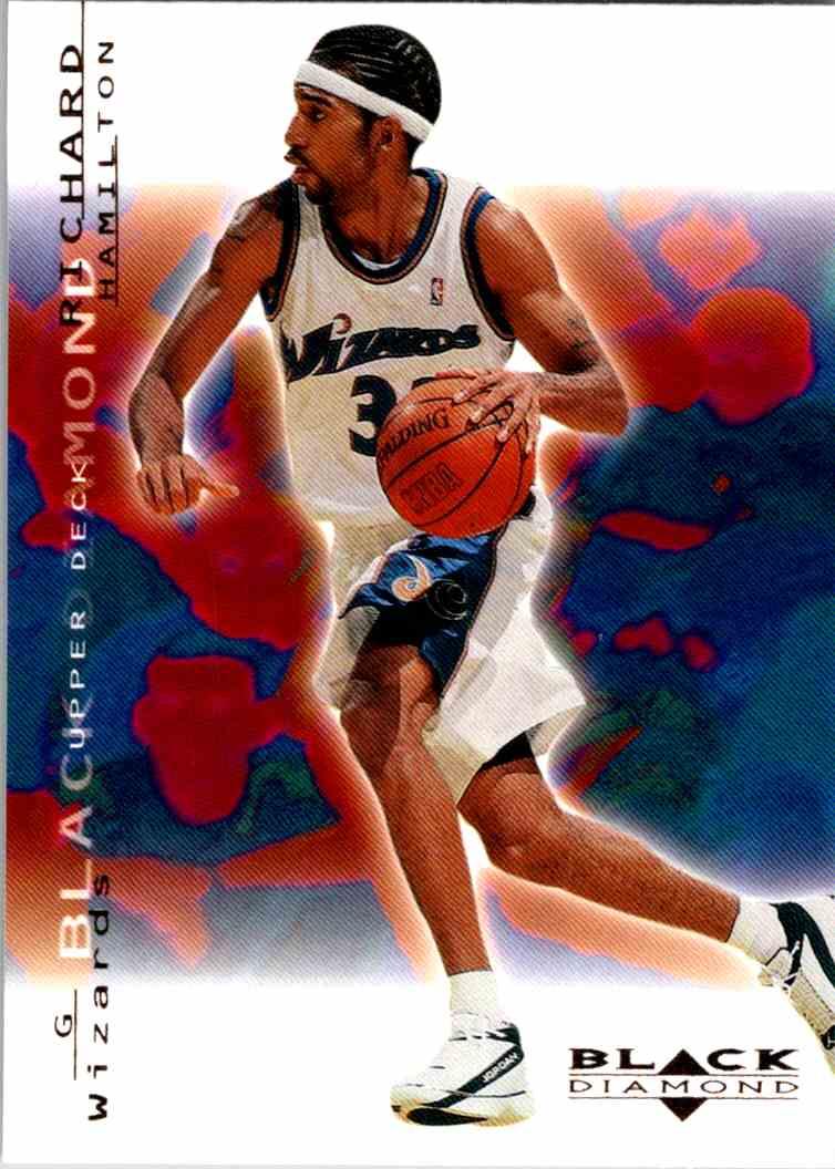 2000-01 Upper Deck Black Diamond Richard Hamilton #89 card front image