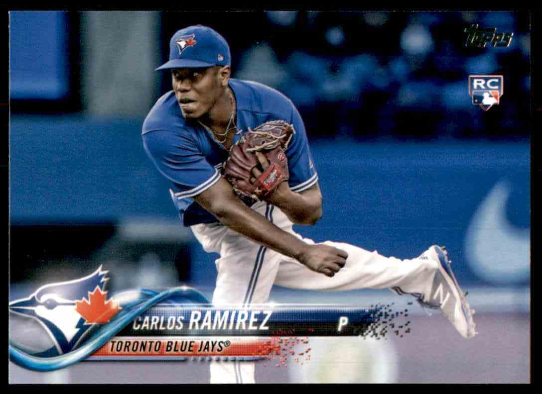 2018 Topps Carlos Ramirez RC #467 card front image
