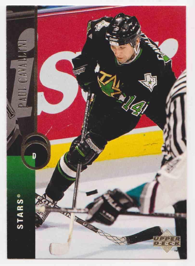 1994-95 Upper Deck Paul Cavallini #311 card front image