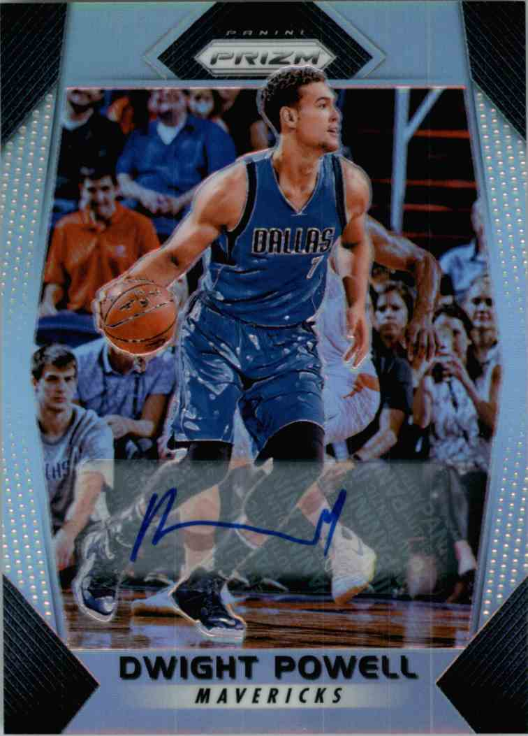 2018-19 Panini Prizm Dwight Powell #92 card front image