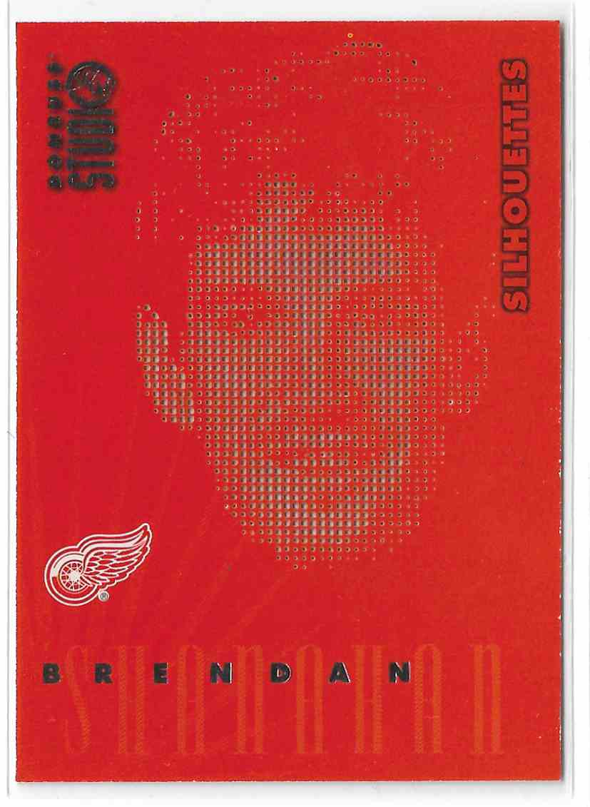 1997-98 Donruss Studio Silhouettes Brendan Shanahan #11 card front image