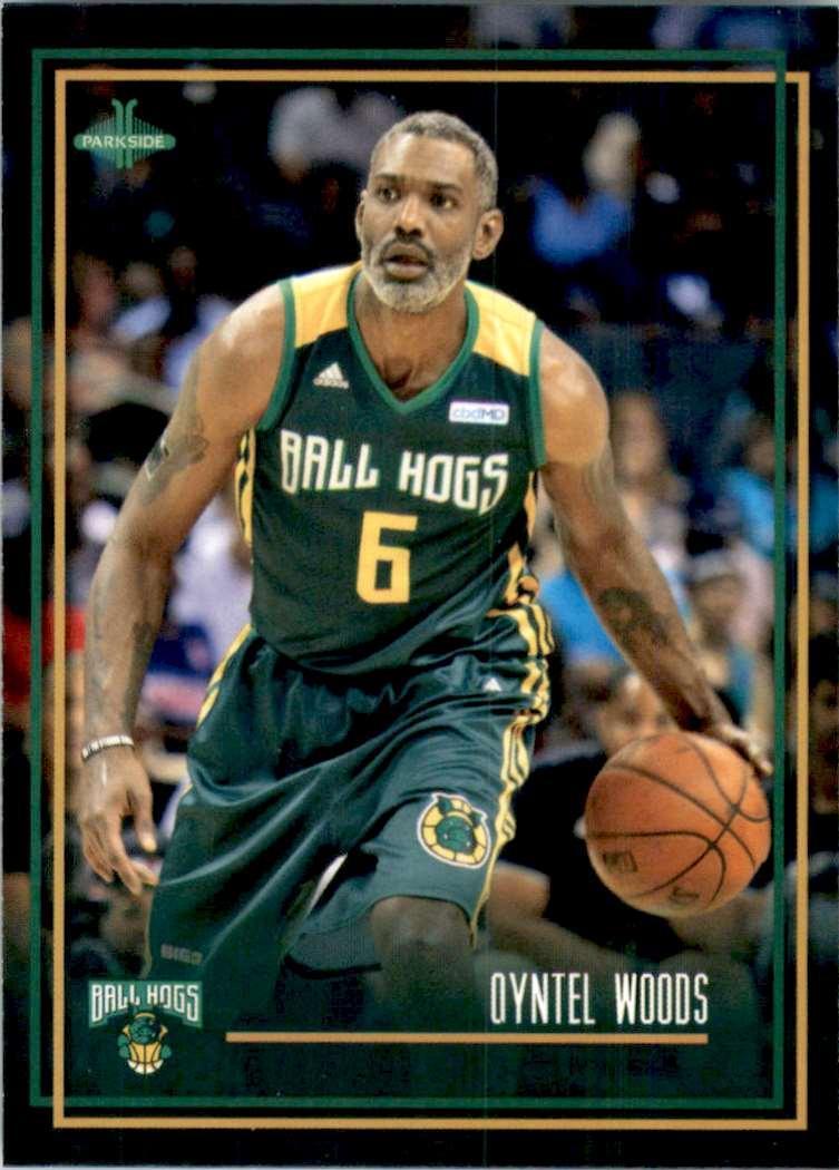 2019-20 Parkside Big3 Qyntel Woods #85 card front image