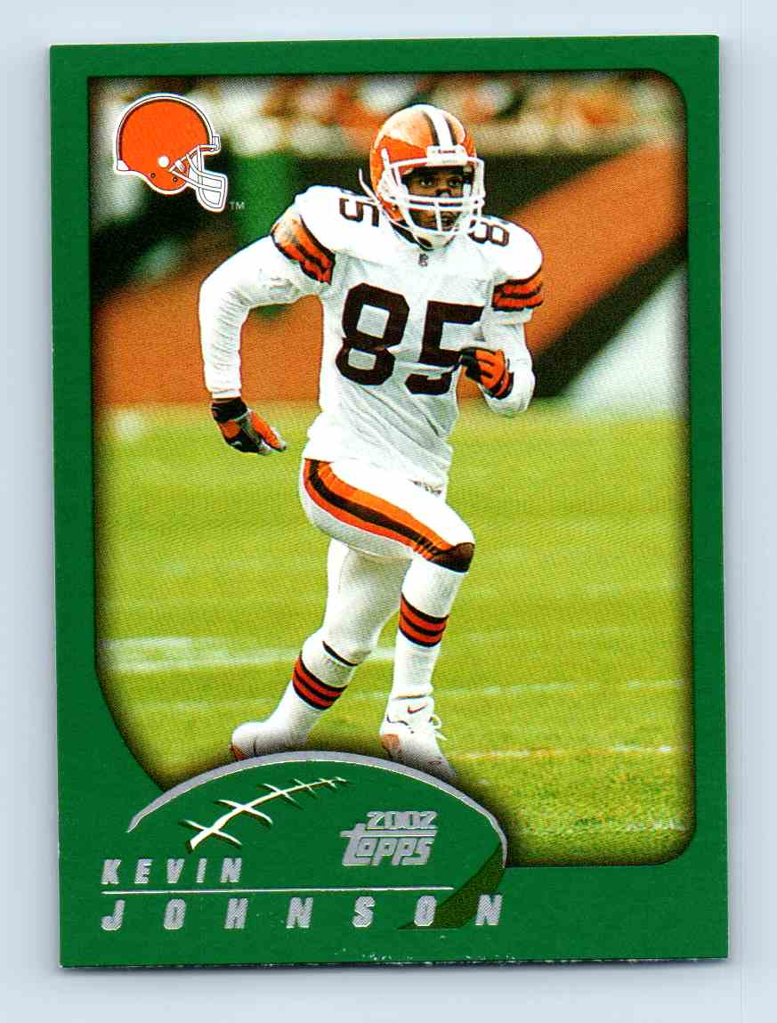 2002 Topps Kevin Johnson #274 card front image