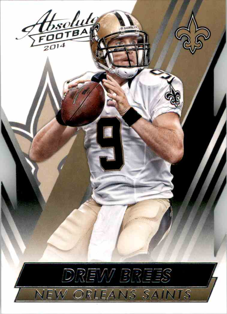 2014 Absolute Retail Drew Brees #51 card front image