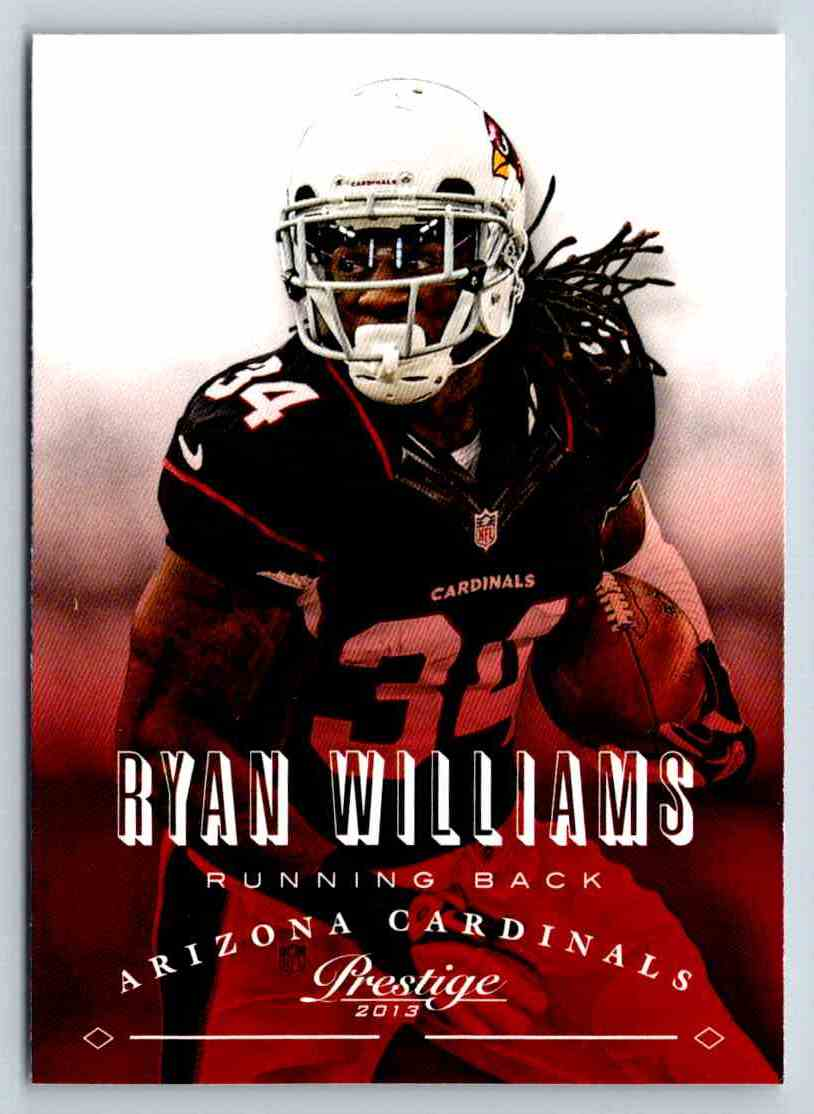 2013 Prestige Ryan Williams #4 card front image