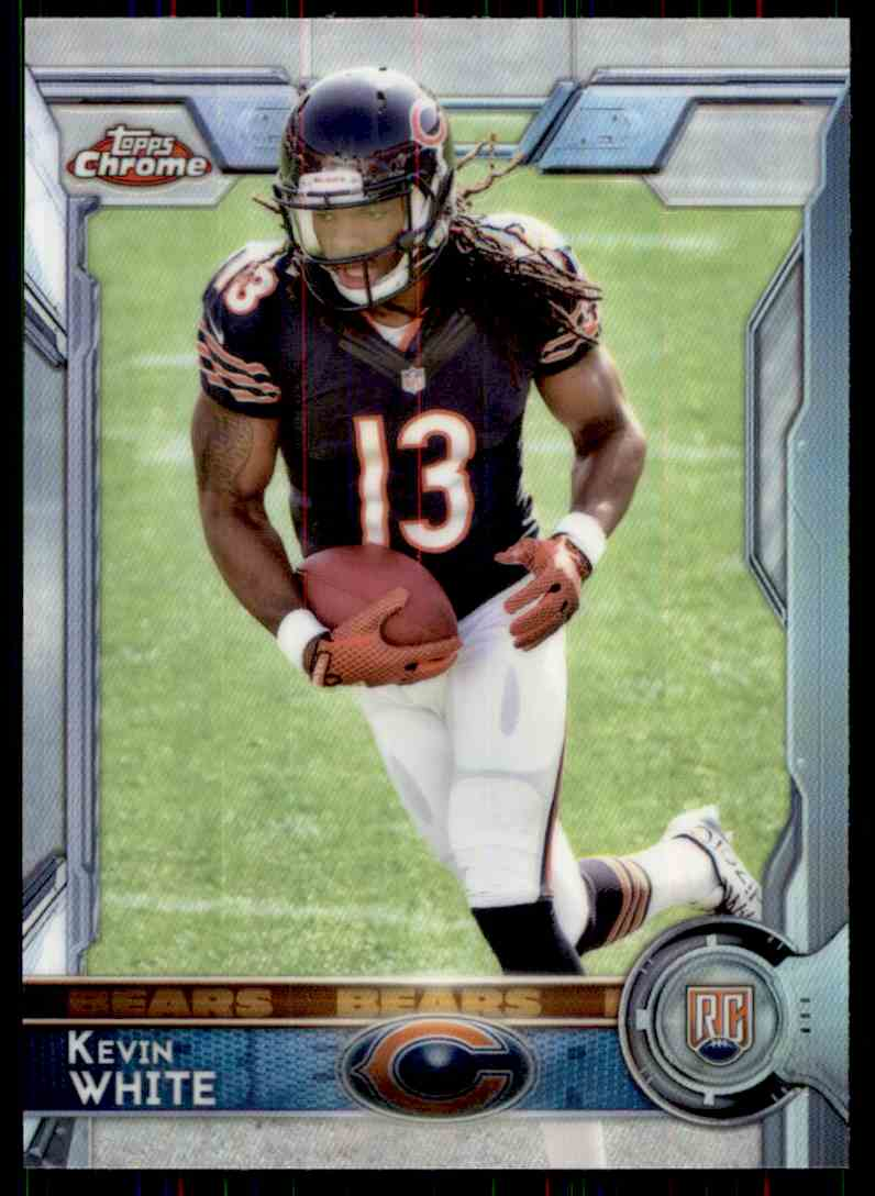 2015 Topps Chrome Refractor Kevin White #125 card front image