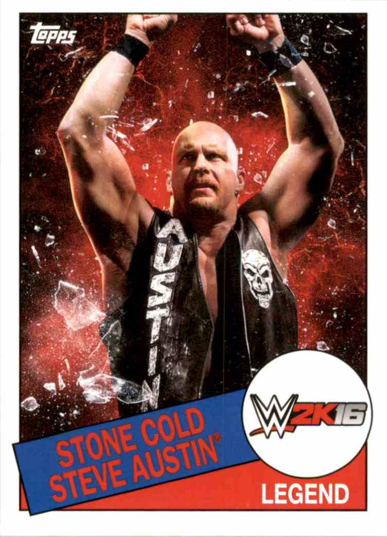 2015 Topps Heritage Wwe 2K16 Topps Heritage Wwe 2K16 #8 card front image
