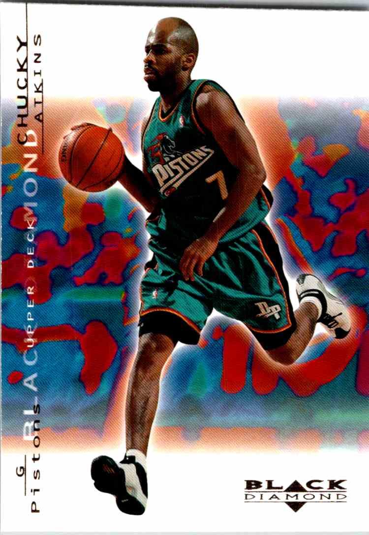 2000-01 Upper Deck Black Diamond Chucky Atkins #24 card front image