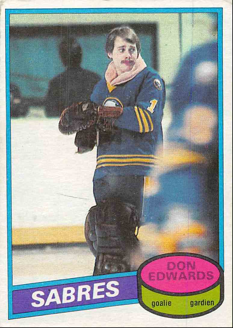 1980-81 O-Pee-Chee Don Edwards #215 card front image