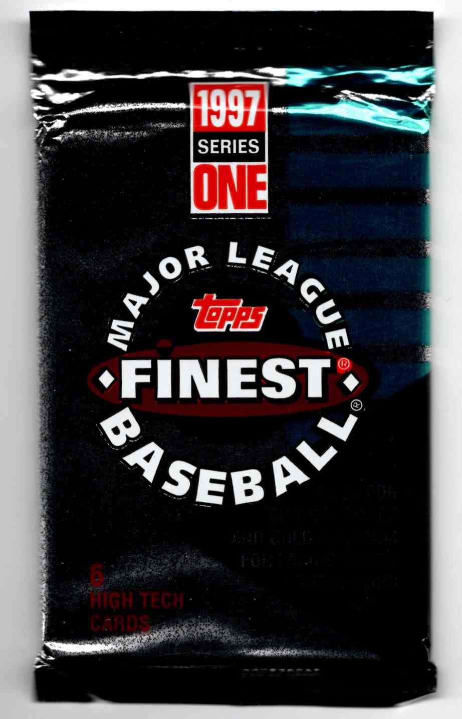 1997 Finest Series 1 Unopened Pack #6 card front image