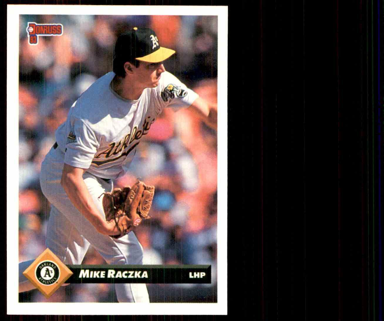 1993 Donruss Mike Raczka #183 card front image