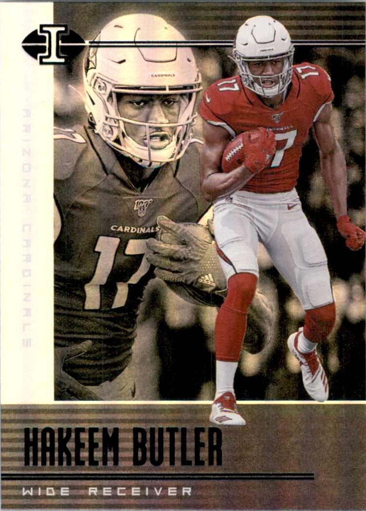 2019 Panini Illusions Retail Hakeem Butler RC #100 card front image