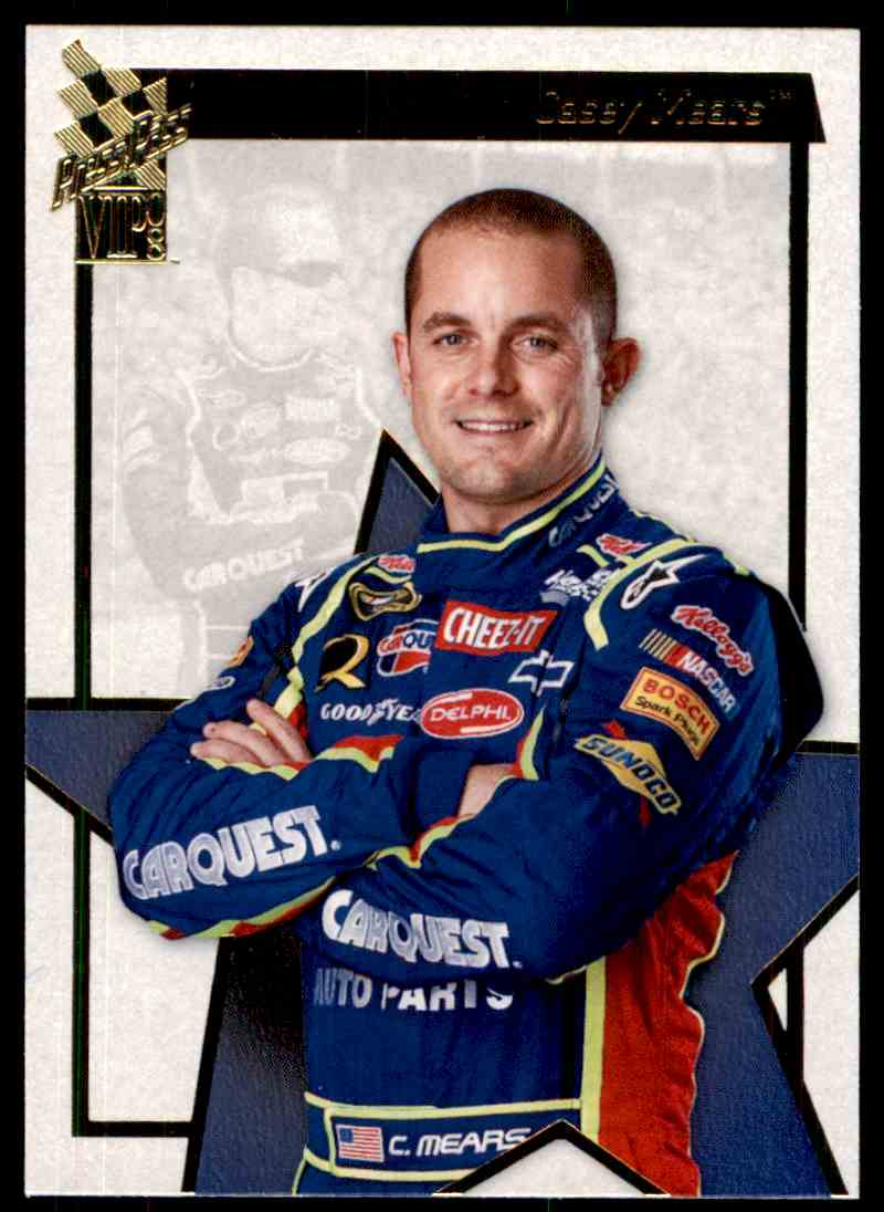 2008 Press Pass Vip Casey Mears #23 card front image