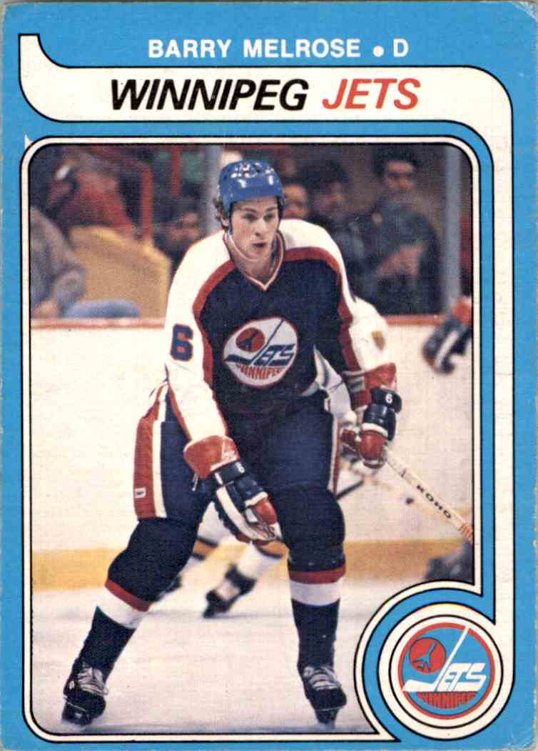 1979-80 O-Pee-Chee Barry Melrose #386 card front image