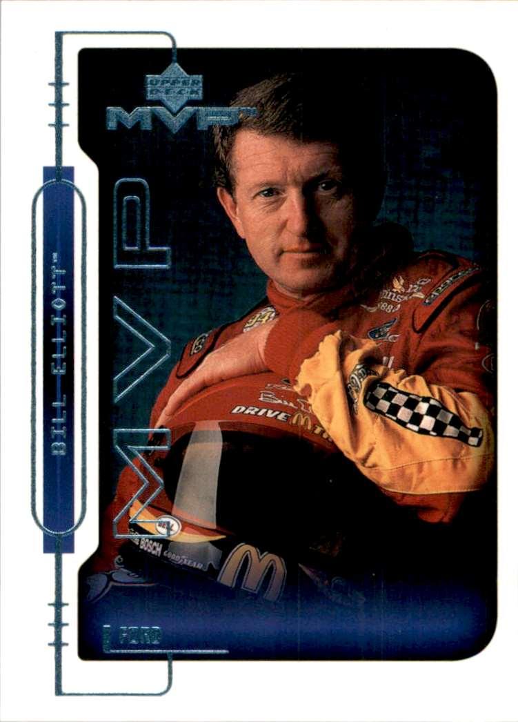 2000 Upper Deck MVP Bill Elliott #25 card front image