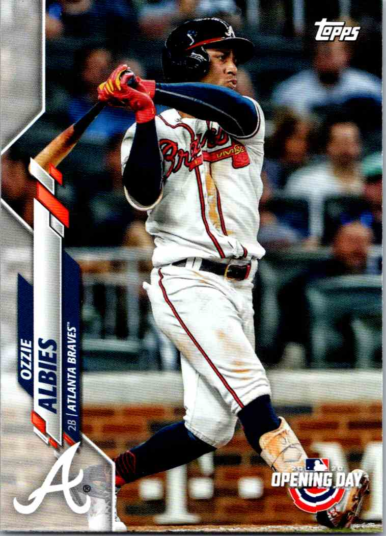 2020 Topps Opening Day Ozzie Albies #71 card front image