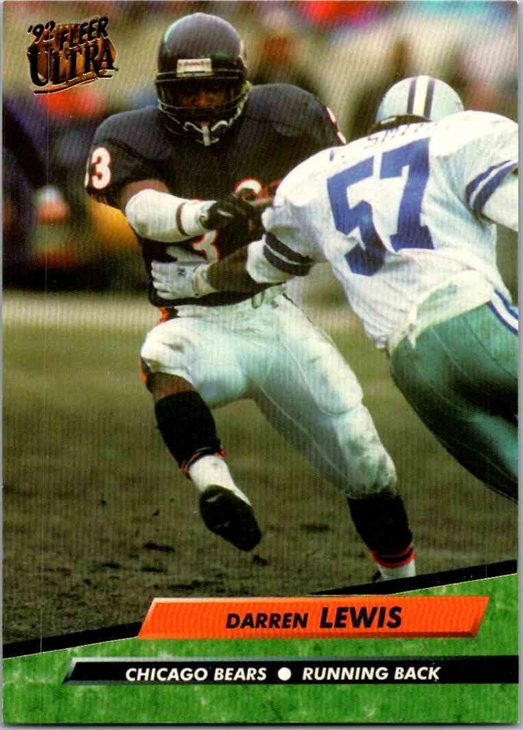 1992 Fleer Ultra Darren Lewis #42 card front image
