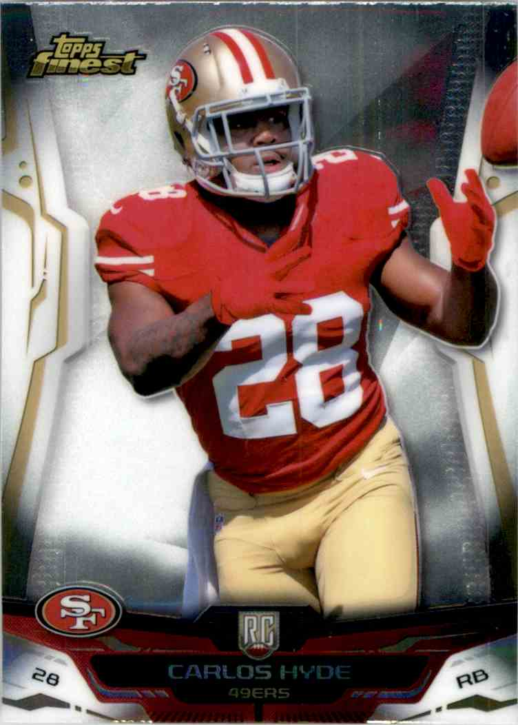 2014 Finest Carlos Hyde #103 card front image