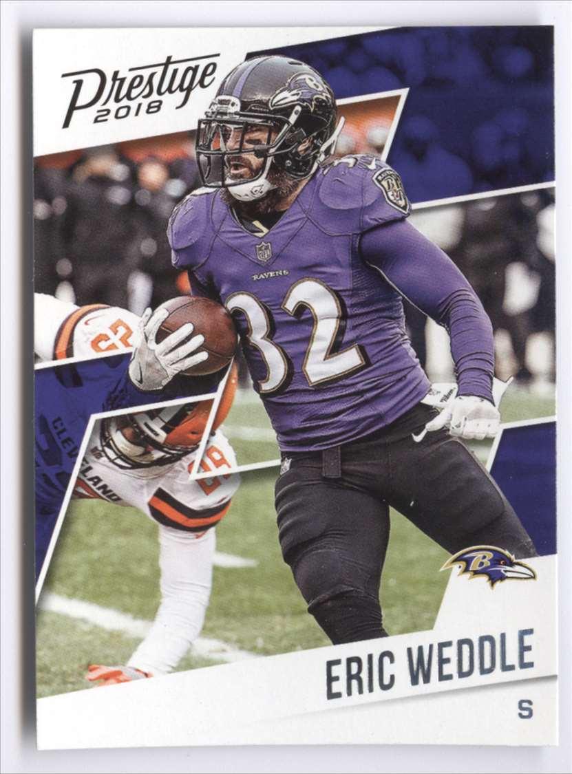 2018 Panini Prestige Eric Weddle #90 card front image