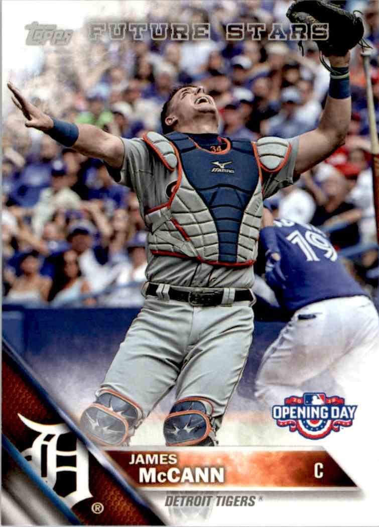 2016 Topps Opening Day James McCann FS #OD-159 card front image