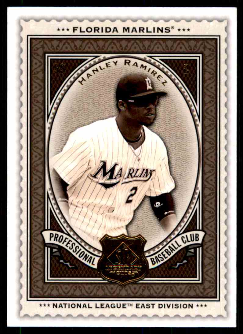 2009 SP Legendary Cuts Hanley Ramirez #72 card front image