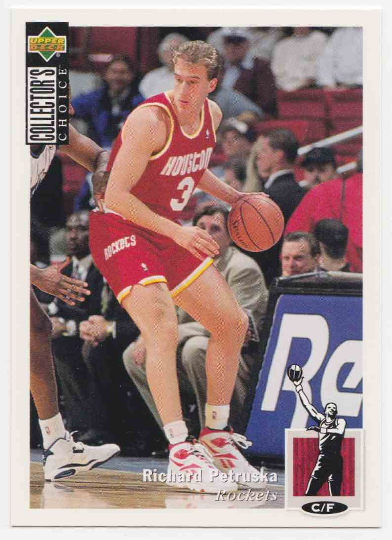 1994-95 Upper Deck Collector's Choice Base Richard Petruska #92 card front image